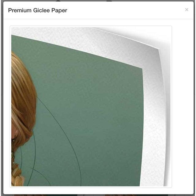 Steve Klinkel Blue Alley Giclee Print For Sale - Image 4 of 4