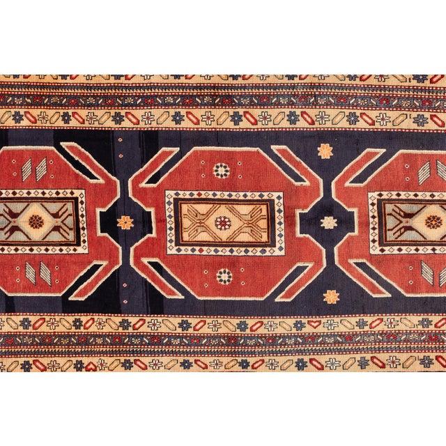 "Mid 20th Century Apadana - Vintage n.w. Persian Runner Rug, 4'6"" X 10'2"" For Sale - Image 5 of 7"