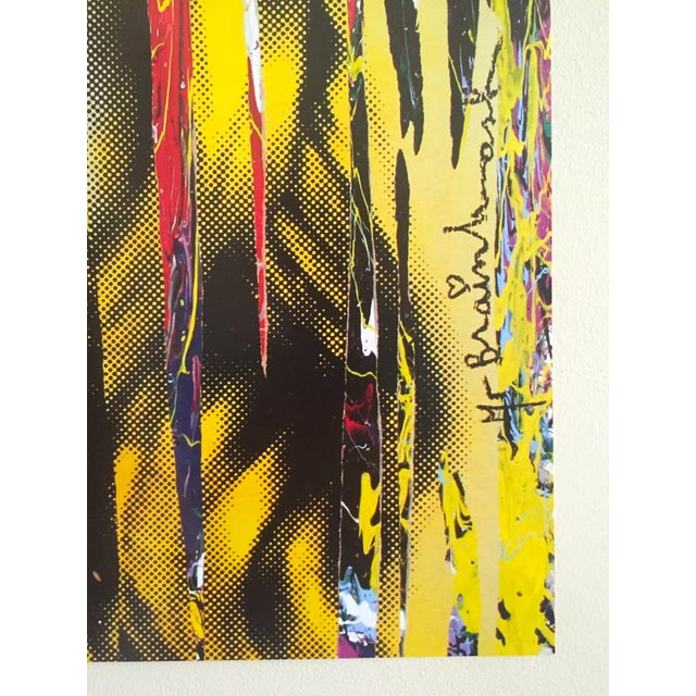 """Mr. Brainwash """" Kate Moss """" Rare Authentic Lithograph Print Pop Art Poster For Sale - Image 10 of 13"""