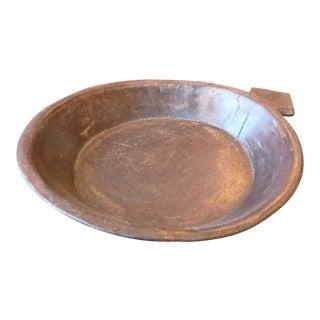 Primitive Wood Decorative Bowl For Sale
