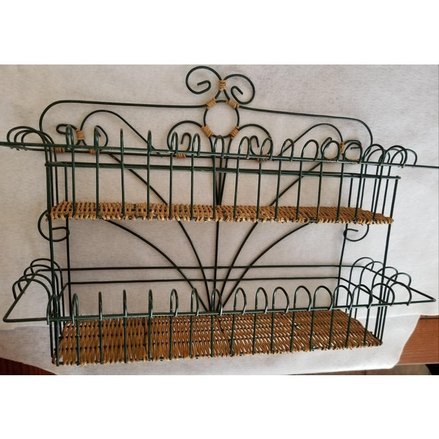 We love this extraordinary set of wicker shelves and tissue box holder for the popular wicker construction and hunter...