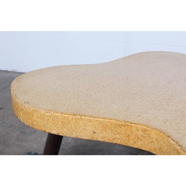 Johnson Furniture Co. Amoeba Cork Top Coffee Table by Paul Frankl For Sale - Image 4 of 10