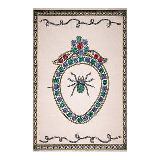 Fee Greening - Lovers Spider Cashmere Blanket, 51' X 71' For Sale