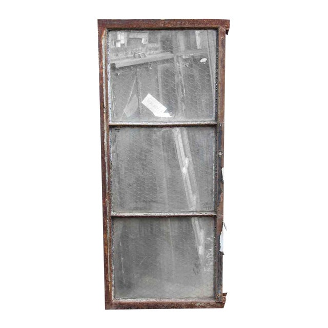 Encasement Window Chicken Wire Glass Panels For Sale