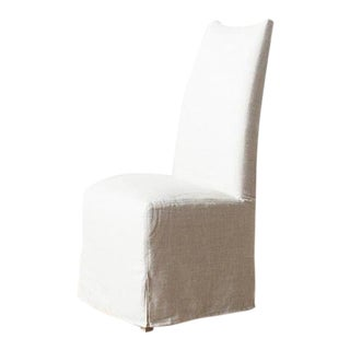 Modern High Back Dining Chair For Sale