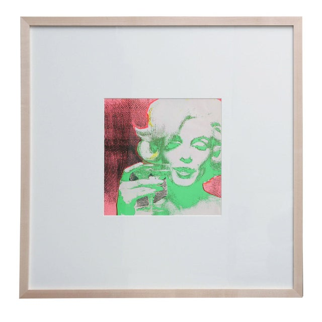'The Marilyn Monroe Trip - 2' original 1968 serigraph artwork by Burt Stern (1929-2013), after 'The Last Sitting,' matted...