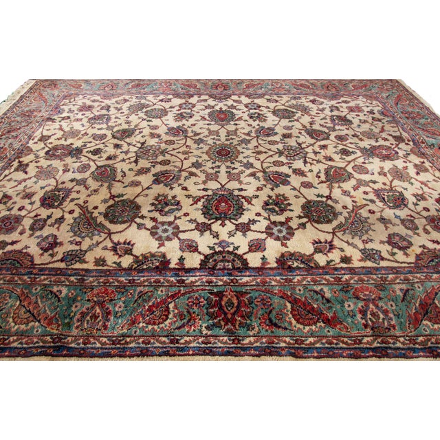 """Vintage Turkish Rug, 10'04"""" X 14'02"""" For Sale - Image 4 of 8"""