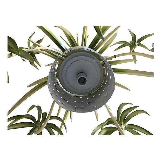 Italian Spider Plant Chandelier - Image 5 of 9