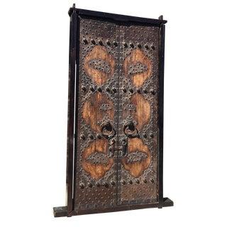 Set of Chinese Elmwood Temple Doors