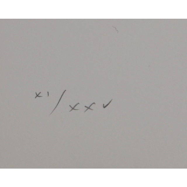 """Max Bill Max Bill, Constellations Xv"""", Geometric Lithograph For Sale - Image 4 of 5"""