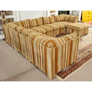 Mid Century Modern Danish Selig Monroe 6 Piece Modular Sectional Preview