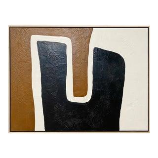 "Exclusive John O'Hara ""Saddle"" Encaustic Painting"