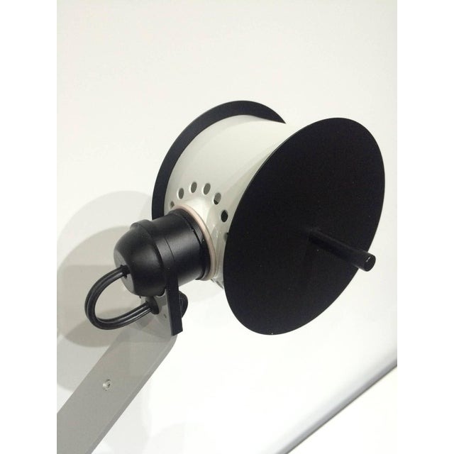 Late 20th Century Pair of Memphis Post Modern Lamps Attributed to Ettore Sottsass For Sale - Image 5 of 7