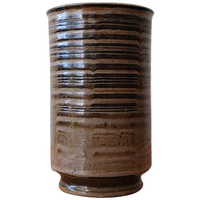 Beige Ward Youry Ceramic Vase, 1950s For Sale - Image 8 of 8