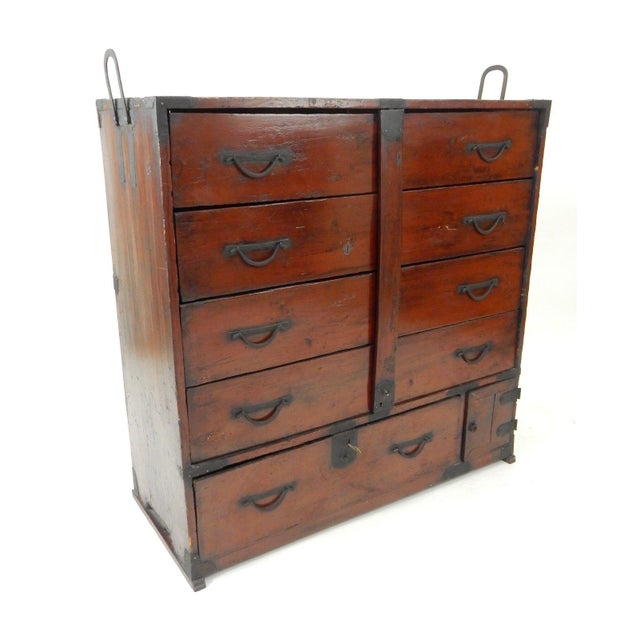 Antique Japanese Antique Tansu Cabinet For Sale - Image 13 of 13 - Antique Japanese Antique Tansu Cabinet Chairish