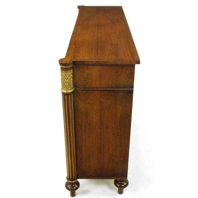 Arthur Brett Arthur Brett & Sons Regency Style Rosewood Sideboard For Sale - Image 4 of 10