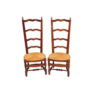 French Side Chairs - Pair For Sale