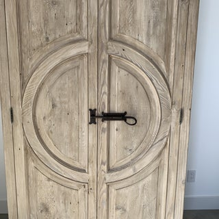 Reclaimed Lumber Circle Armoire Preview