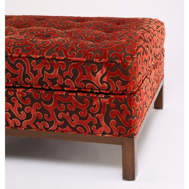 1960'S VINTAGE HARVEY PROBBER LOUNGE CHAIR & OTTOMAN For Sale - Image 10 of 10