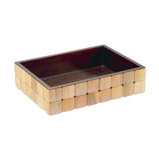 Selamat Designs Pine Barclay Amenities Tray For Sale