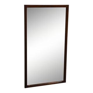 Danish Rosewood Mirror by Aksel Kjersgaard Odder For Sale