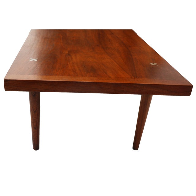 American of Martinsville Walnut Coffee Table - Image 3 of 6