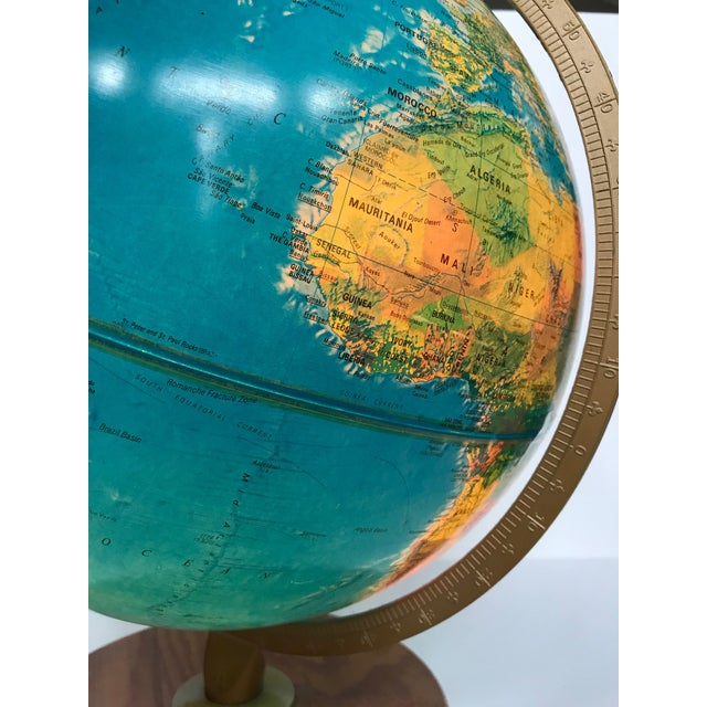 Vintage Late 20th Century Globe Light For Sale In Austin - Image 6 of 10