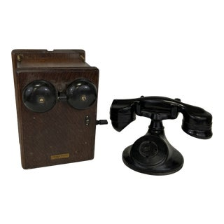 Antique Western Electric Telephone For Sale