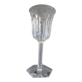 "Baccarat Crystal Malmaison 8"" Tall Goblet For Sale"