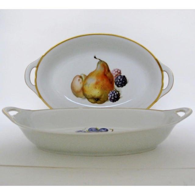 Vintage Bavarian Serving Bowls - a Pair - Image 5 of 8