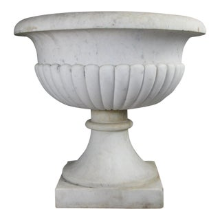Antique Italian Marble Urn For Sale