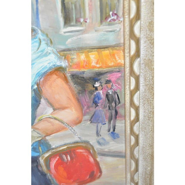Mid-Century European Oil Painting - Image 5 of 8