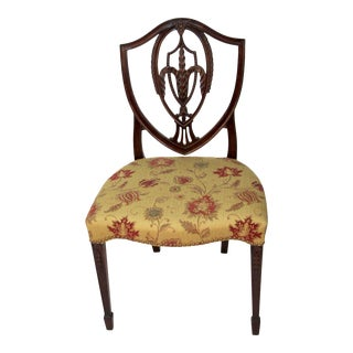 1940s Vintage Joseph Gerte of Boston Ma Single Side Chair For Sale