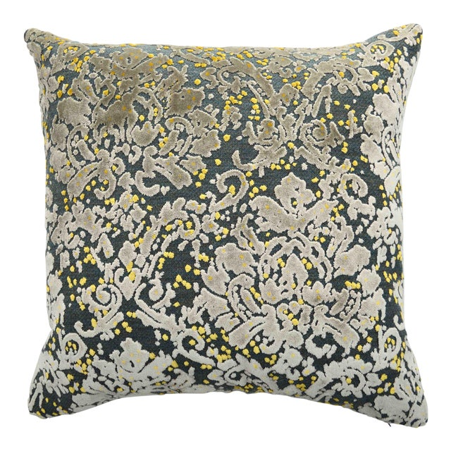 at velvet square geometric tape bma pillow products home gray accent install x with