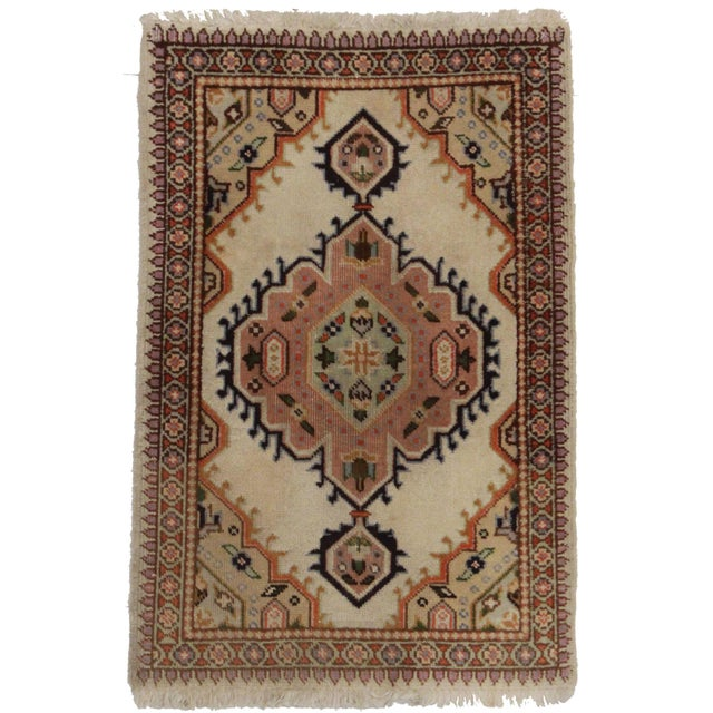 "RugsinDallas Antique Persian Tabriz Rug - 1′11″ × 2′ 10"" - Image 1 of 2"