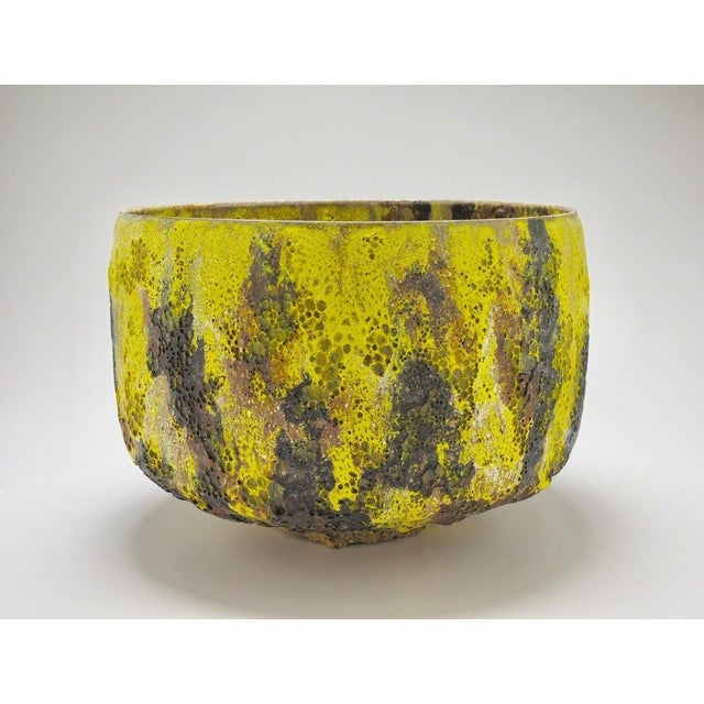 Contemporary Jay Kvapil, Yellow and Black Bowl, 2017 For Sale - Image 3 of 3