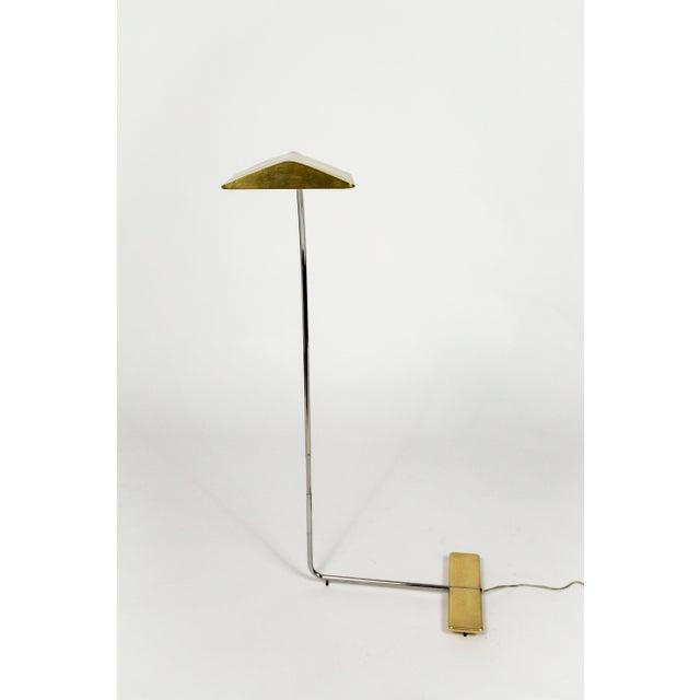 Cedric Hartman 1970s Cedric Hartman Brass Floor Lamp For Sale - Image 4 of 13