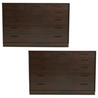 Pair of Edward Wormley Dressers For Sale