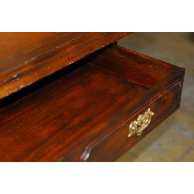 French Louis XIII Leather Top Writing Table - Image 7 of 7