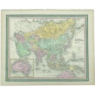 1850 Cowperthwait Asia & Australia Map