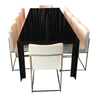 Ligne Roset Black Dining Table For Sale