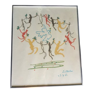 "1960s Vintage ""Dance of Youth"" Picasso Print For Sale"