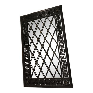 Maitland - Smith Wrought Iron Wall Hung Mirror For Sale