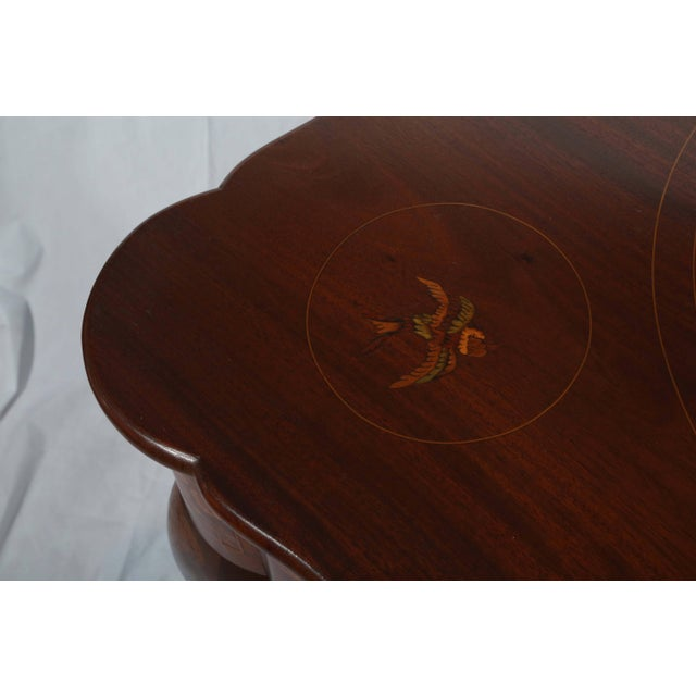 Fine Dutch Marquetry Game Table For Sale In West Palm - Image 6 of 11