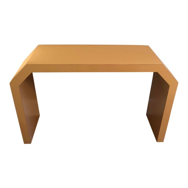 Sculptural Console Table For Sale