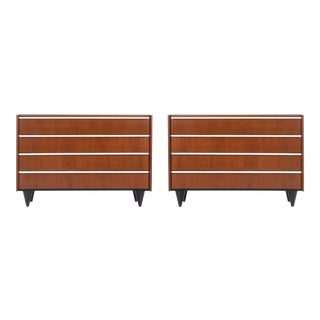 Pair of Gilbert Rohde Dressers for Herman Miller