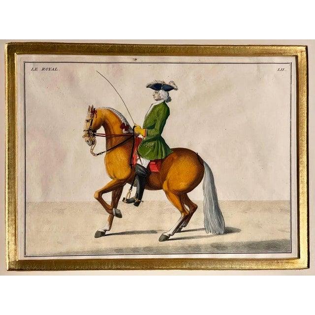 1900 - 1909 Four Engravings of Horse Riders Le Sensible, Le Royal, Le Conquerant, Le Ballon For Sale - Image 5 of 11
