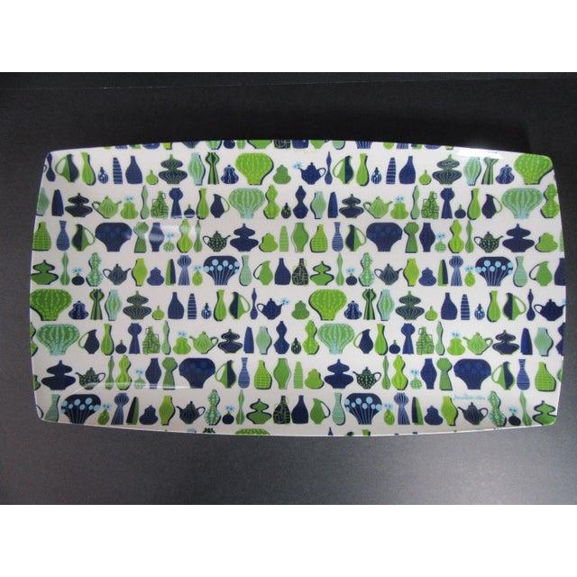 Jonathan Adler Happy Home Retro Melamine Plastic Tray Platter | Chairish
