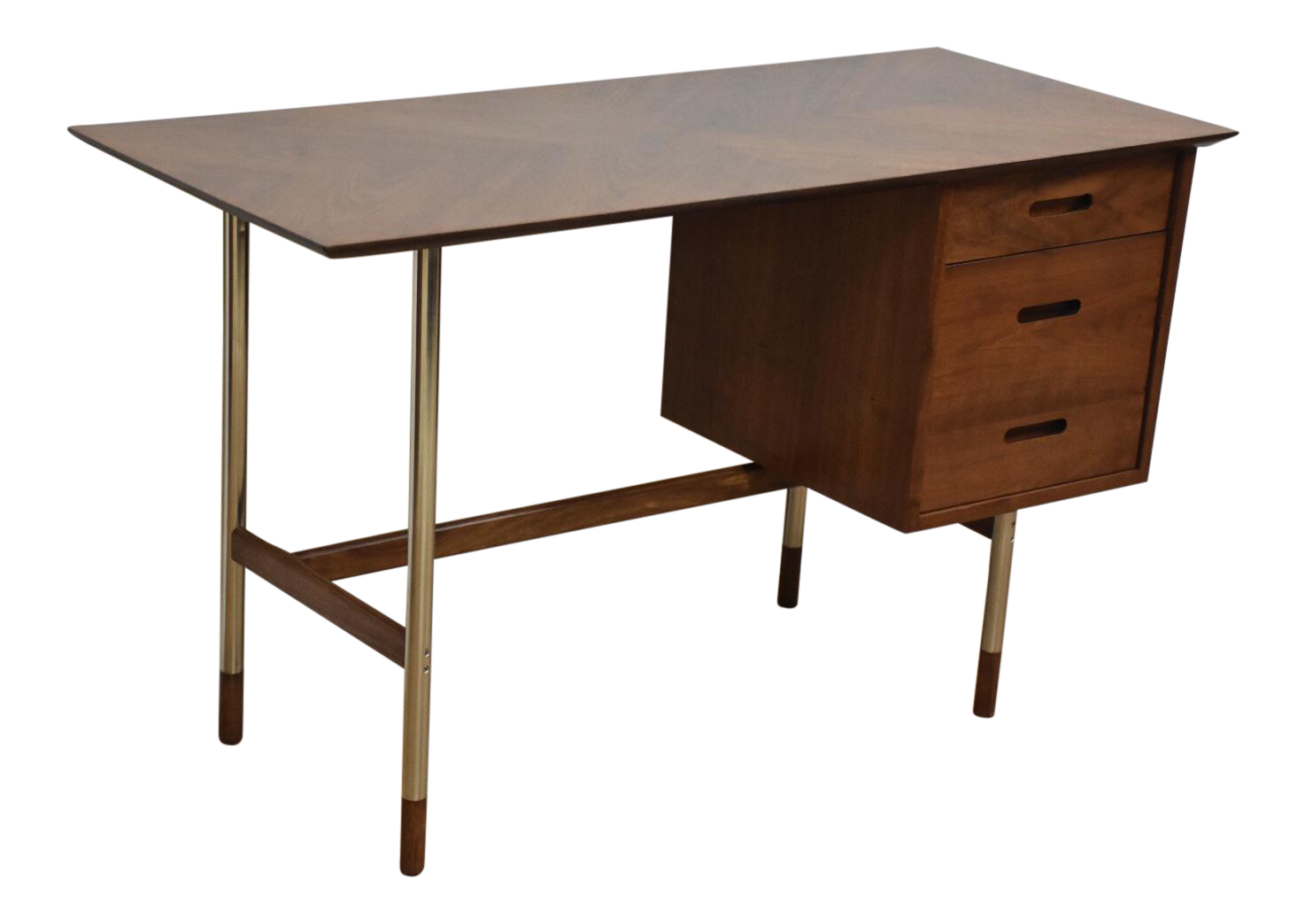 Charmant Jack Cartwright For Founders Walnut And Steel Desk