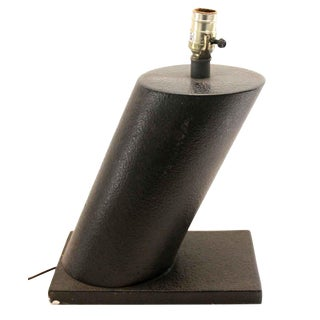 Modern Black Lamp For Sale